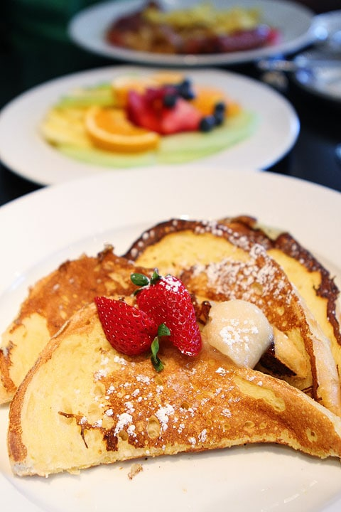 French Toast at Bambara Restaurant in Salt Lake City on twopeasandtheirpod.com