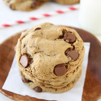 Flourless-Peanut-Butter-Chocolate-Chip-Oatmeal-Cookies-1