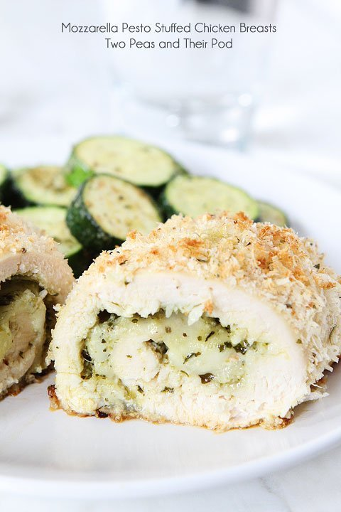 Recipe for parmesan crusted stuffed chicken