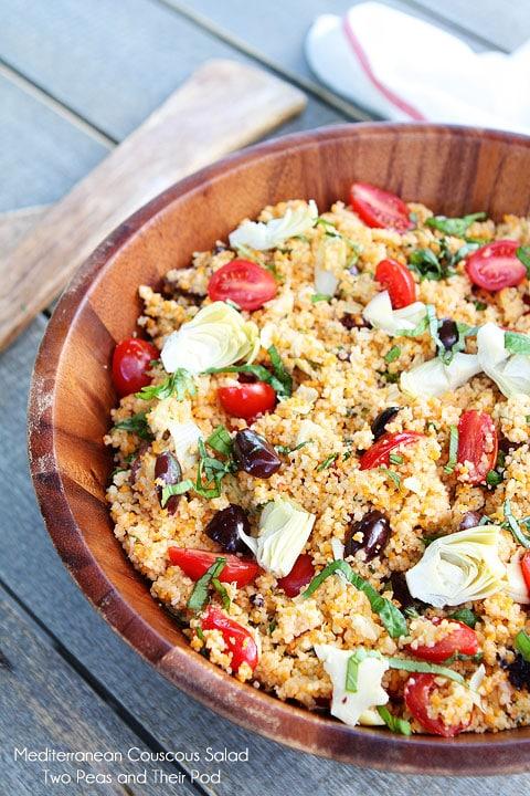 Mediterranean Couscous Salad | Couscous Salad Recipe | Two Peas ...