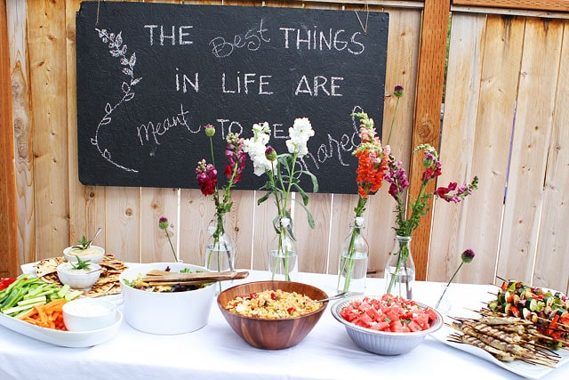 Summer Outdoor Entertaining Menu - Kitchen Layout and Decorating Ideas