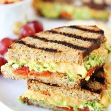 Grilled-Roasted-Red-Pepper-Hummus,-Avocado,-&-Feta-Sandwich-5