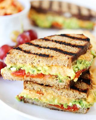 Grilled-Roasted-Red-Pepper-Hummus,-Avocado,-&-Feta-Sandwich-5
