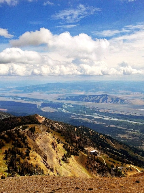 View of Jackson Hole on twopeasandtheirpod.com