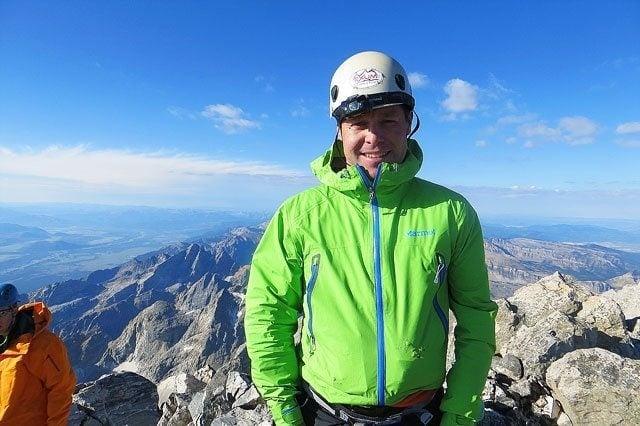 Hiking the Grand Teton on twopeasandtheirpod.com