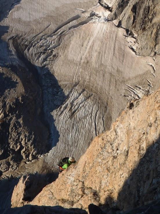 Climbing the Grand Teton on twopeasandtheirpod.com #jacksonhole