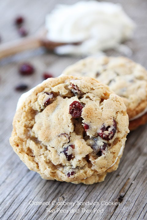 Cranberry Filling White Chocolate Dipped Welsh Cakes