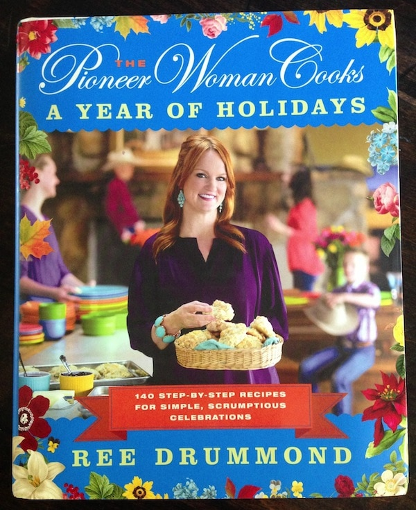 A giveaway for The Pioneer Woman Cooks: A Year of Holidays Cookbook on twopeasandtheirpod.com