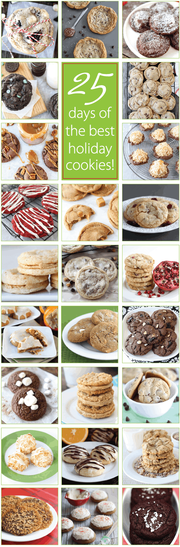 25 Days of the BEST Holiday Cookie Recipes on twopeasandtheirpod.com ...