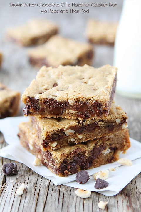 ... brown butter bar recipes dishmaps hazelnut and cherry brown butter bar