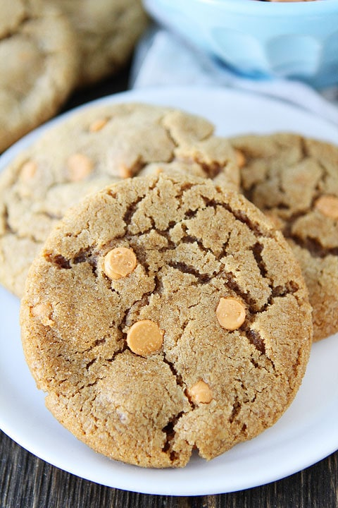 Brown Sugar Butterscotch Cookies | Brown Sugar Cookie Recipe | Two ...