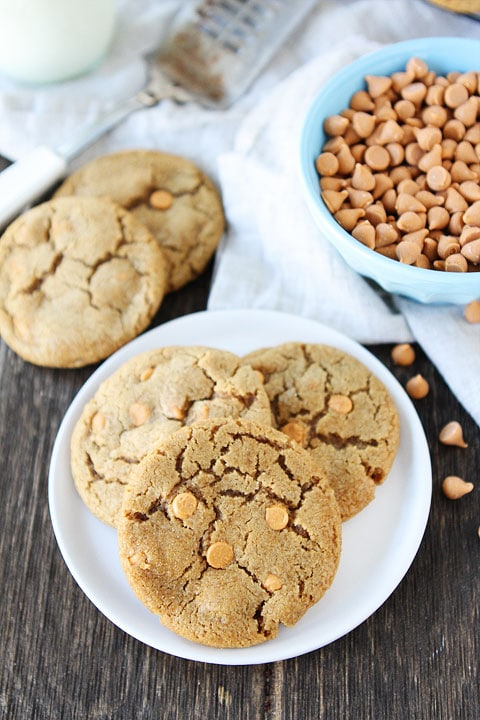 Brown Sugar Butterscotch Cookies-soft and chewy brown sugar cookies ...