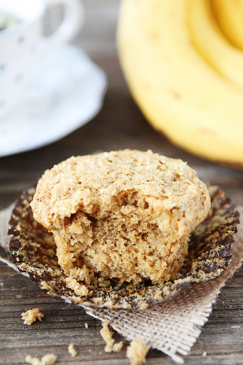 Healthy Whole Wheat Banana Muffin Recipe