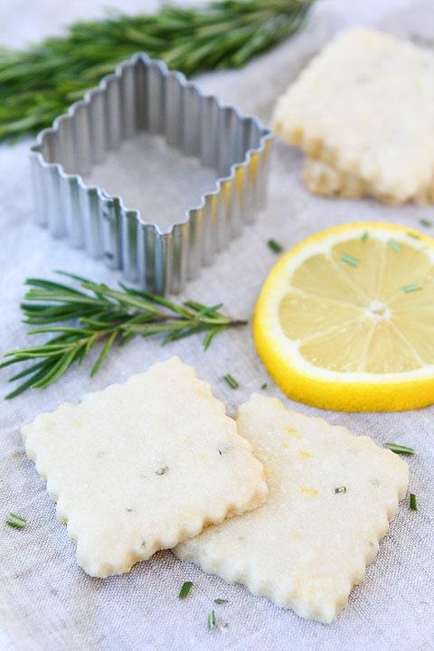 cookies and lemon rosemary shortbread lemon and rosemary shortbread ...