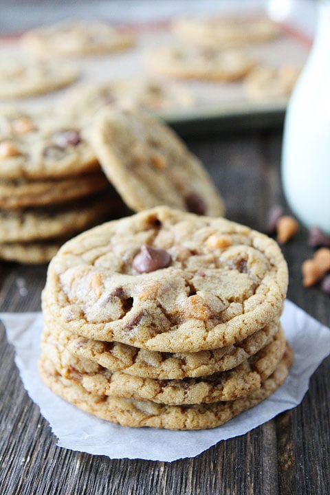 Butterscotch, Toffee, Chocolate Chip Cookies-chocolate chip cookies ...