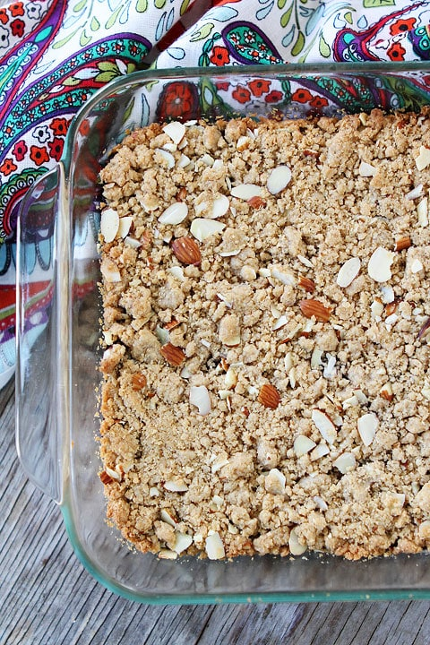 Triple Almond Cherry Crumble Squares Recipes — Dishmaps