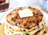 Orange Ricotta Chocolate Chip Pancakes | Ricotta Pancakes | Two Peas ...