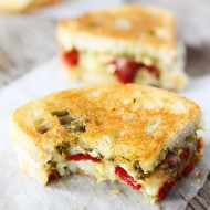Pesto,-Brie,-and-Sweet-Pepper-Grilled-Cheese-9