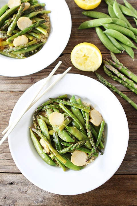 Stir-Fried Velvet Chicken With Snap Peas And Lemon-Ginger Sauce ...