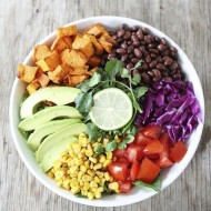 Sweet Potato and Black Bean Mexican Salad-1