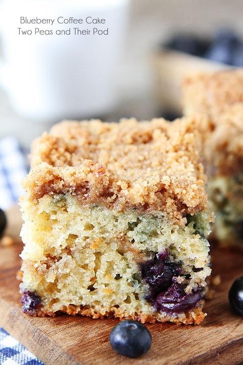 Blueberry greek yogurt coffee cake recipe – Food ideas recipes