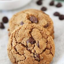 Flourless-Almond-Butter-Chocolate-Chip-Cookies-2