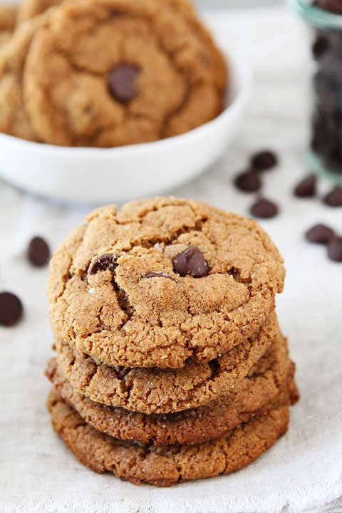 recipe: almond butter chocolate chip cookies passover [12]