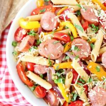 Spicy-Sausage-and-Pepper-Pasta-2