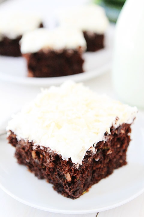 Zucchini Cake Recipe With Cream Cheese Frosting