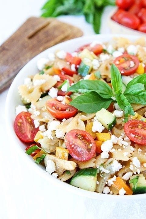 easy summer pasta salad a simple pasta salad recipe that is perfect