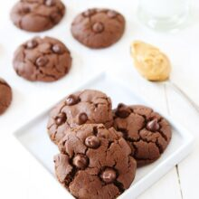 Flourless-Chocolate-Peanut-Butter-Cookies-5