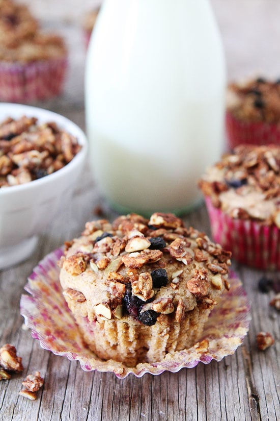 print recipe mixed berry granola muffins yield 10 muffins prep time 10 ...
