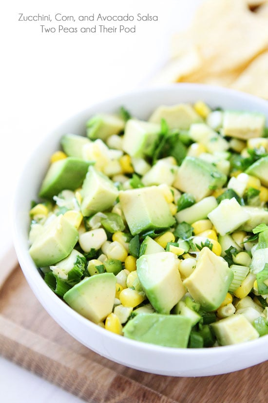 , Corn, and Avocado Salsa-you will fall in love with this fresh ...