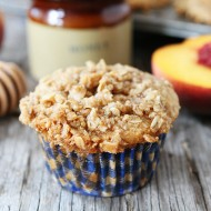 Honey-Peach-Muffins-with-Oat-Streusel-Topping-5