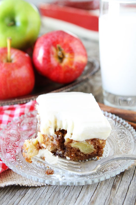 Green Apple Cake Cream Cheese Frosting