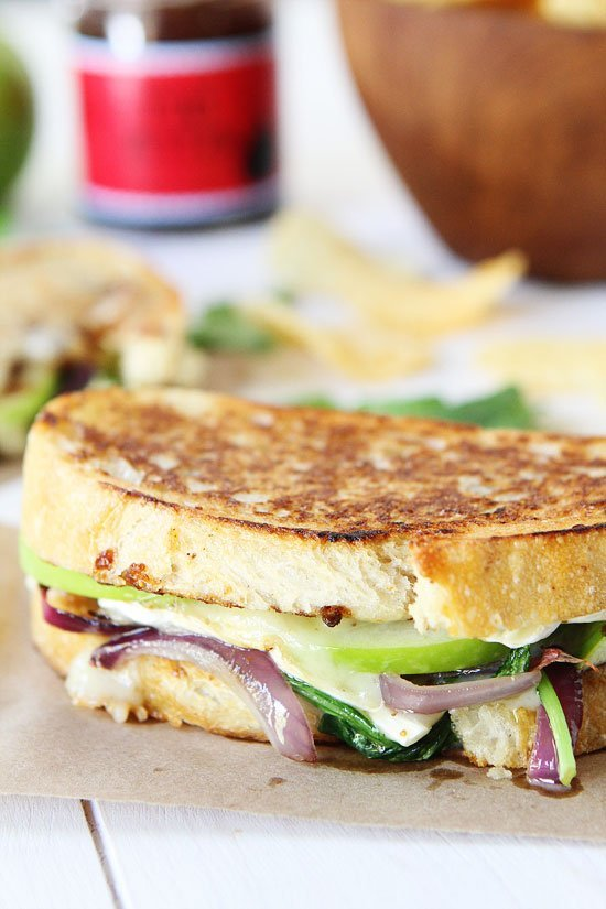cheese grilled cheese roasted broccoli grilled cheese blueberry brie ...
