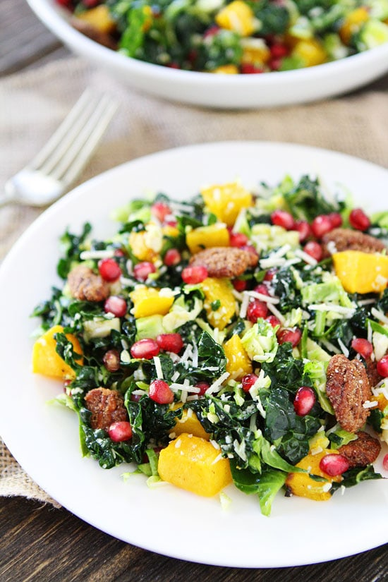Butternut Squash & Apple Salad With Creamy Blue Cheese ...