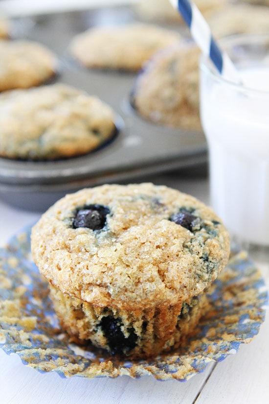 Vegan Banana Blueberry Muffins Recipe