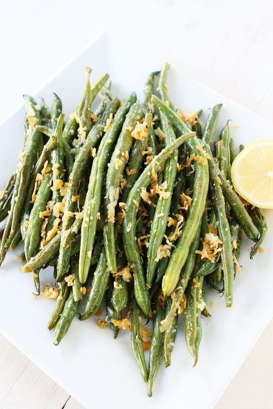 Roasted Parmesan Green Beans Recipes — Dishmaps
