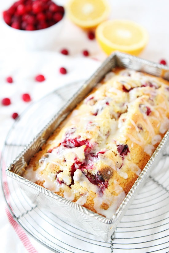 Orange Cranberry Bread Recipe on twopeasandtheirpod.com Sweet orange ...