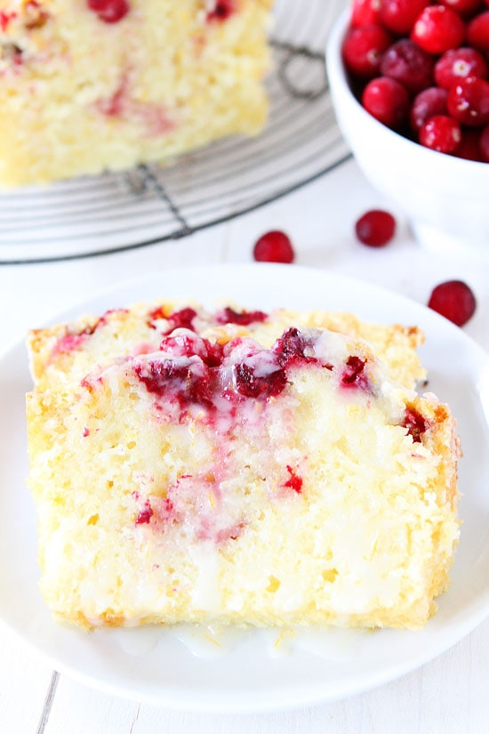 Orange Cranberry Bread Recipe on twopeasandtheirpod.com