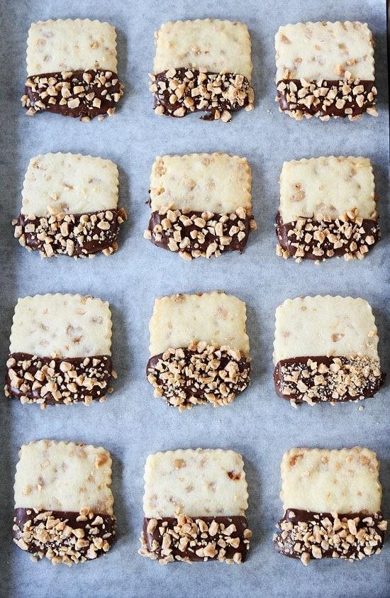 Toffee Shortbread Recipe | Two Peas & Their Pod