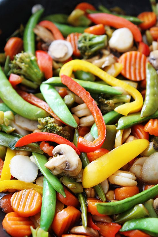 easy vegetable stir fry recipe two peas their pod