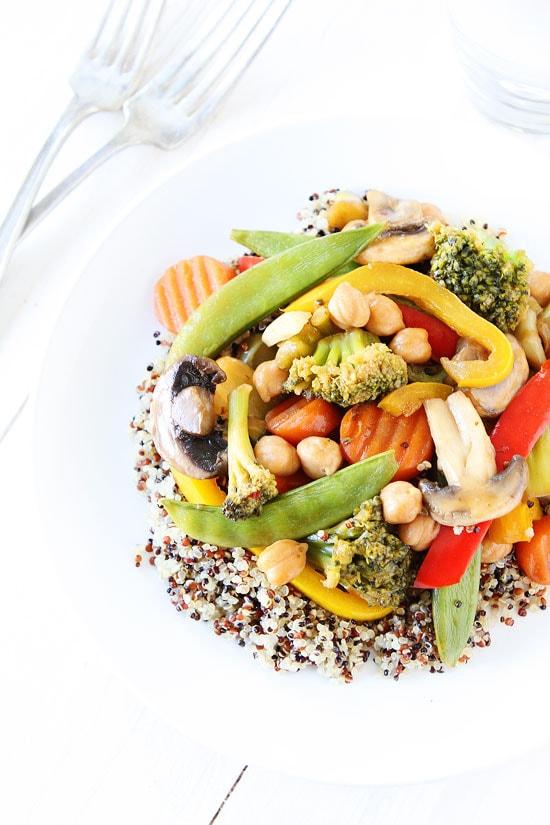 Easy Vegetable Stir Fry Recipe | Two Peas & Their Pod
