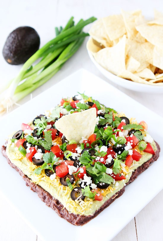 Mexican Layer Dip-this easy 7 Layer Mexican dip is perfect for game ...