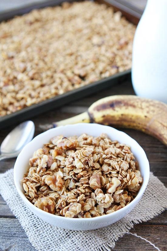 Banana Granola Recipe