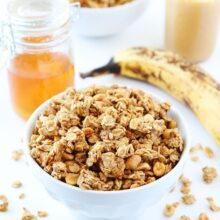 Peanut-Butter,-Banana,-and-Honey-Granola-3