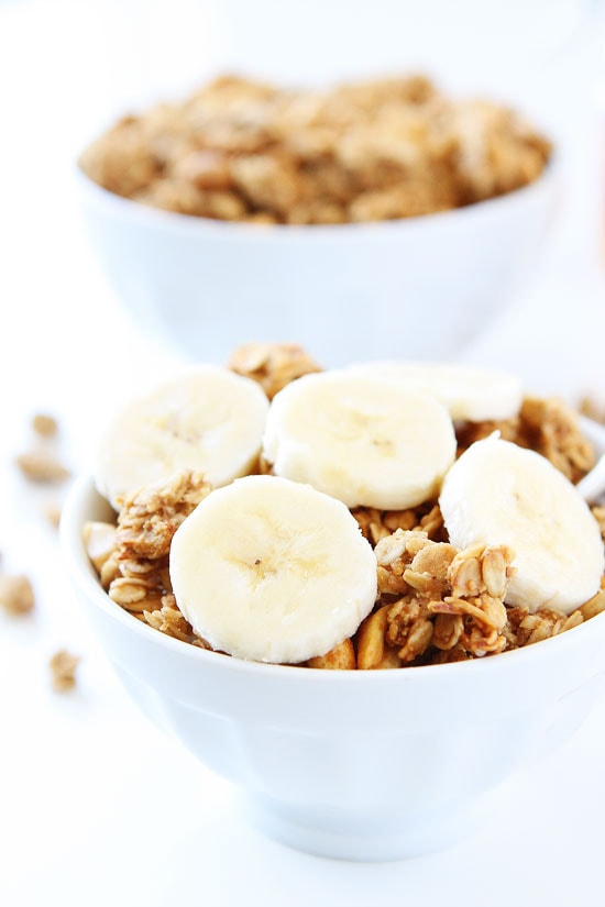 Peanut Butter, Banana, and Honey Granola Two Peas  Their Pod
