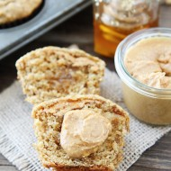 Peanut-Butter,-Banana,-and-Honey-Muffins-8