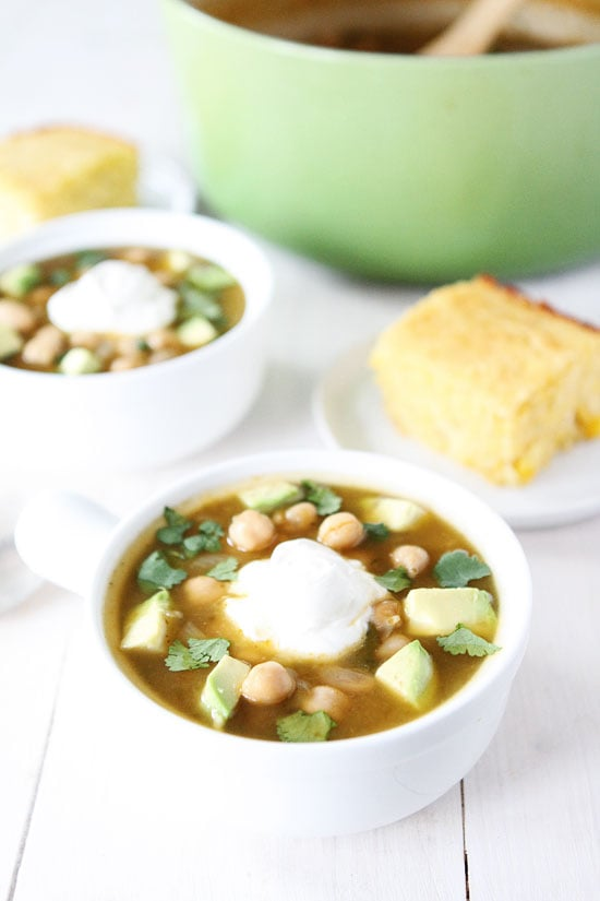 White Chickpea Chili Recipe